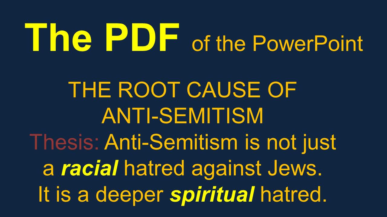 anti semitic definition origin